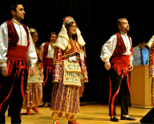 Folk dances from various regions of Anatolia