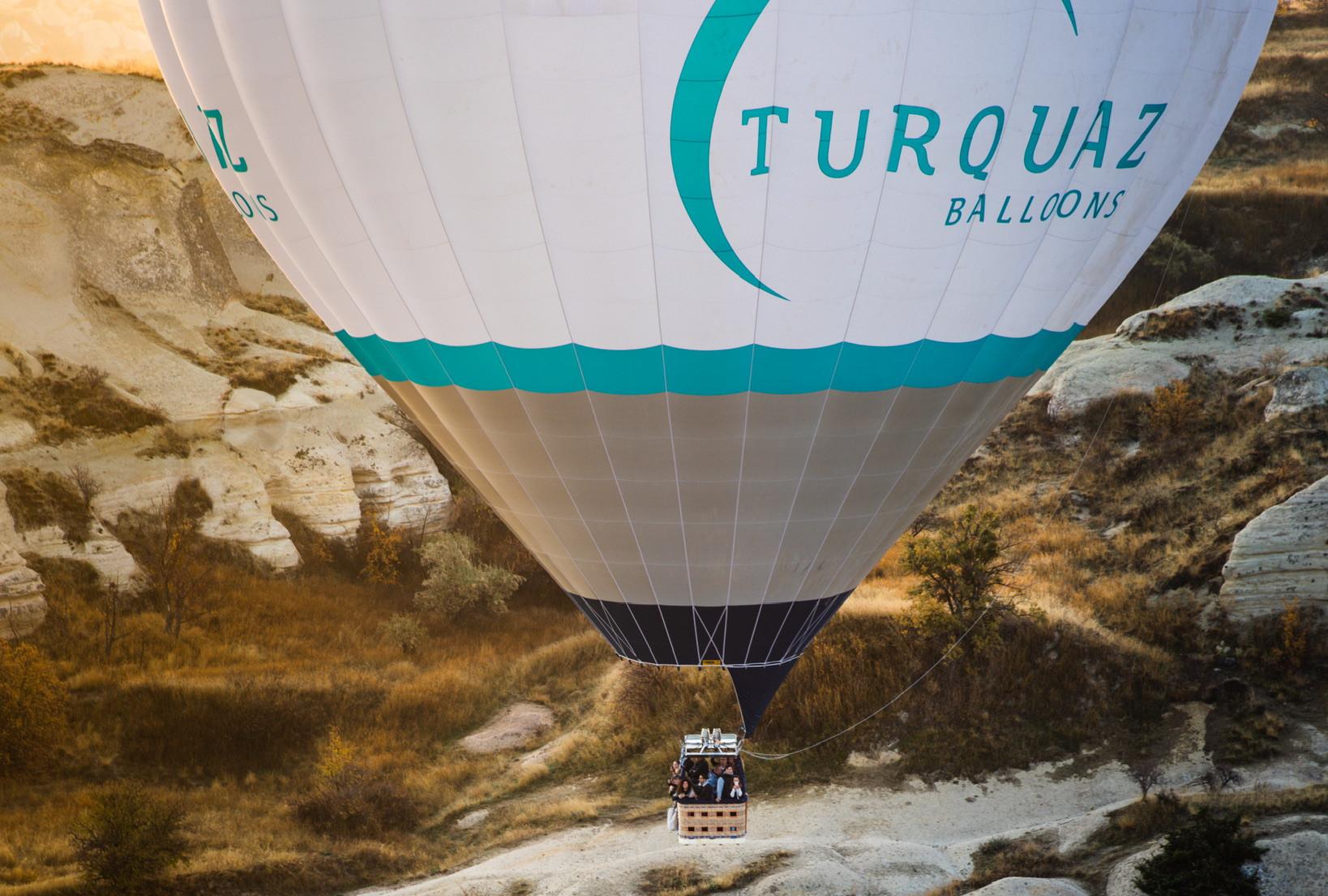 卡帕多奇亚的豪华热气球飞行