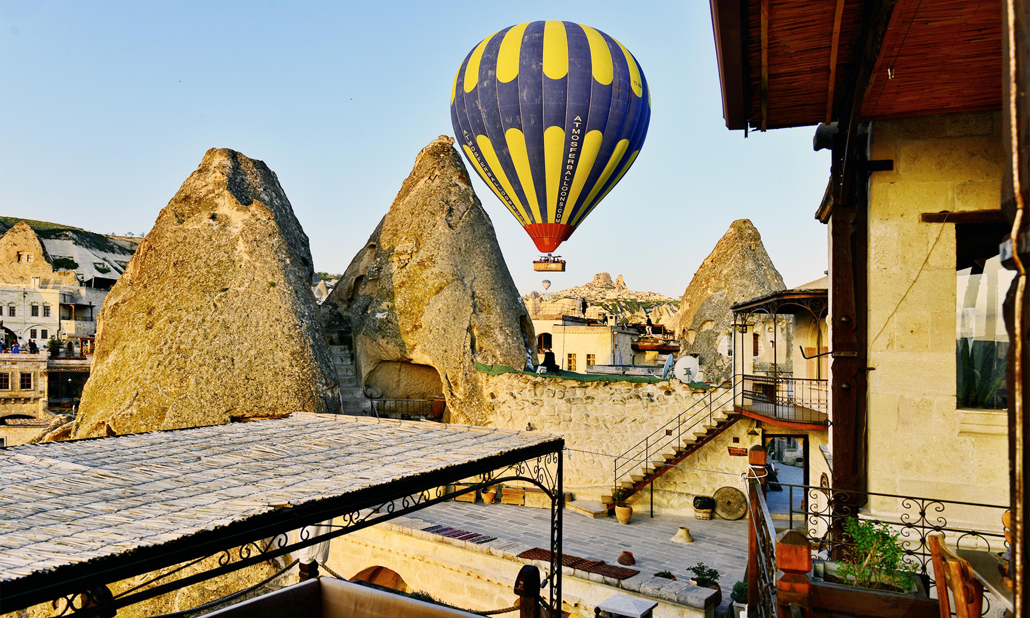 1 Night/ 2 days Cappadocia Package in Kelebek Cave Hotel